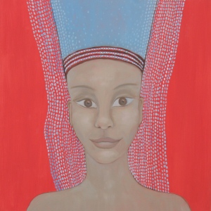 "Painting: Maarit Suokas-Alanko, ""The face of my dream"" (2)"