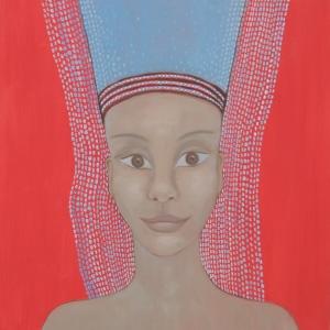"Painting: Maarit Suokas-Alanko, ""The face of my dream"" (2)"